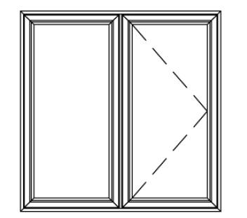 Casement windows elite vinyl windows inc for 18 x 24 vinyl window